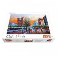 Bộ tranh xếp hình cao cấp 1000 mảnh ghép – Chiều Paris