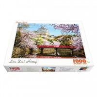 Bộ tranh xếp hình cao cấp 1000 mảnh ghép – Lâu Đài Himeji