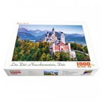 Bộ tranh xếp hình cao cấp 1000 mảnh ghép – Lâu Đài Neuschwanstein, Đức