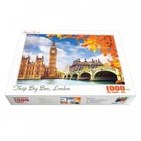 Bộ tranh xếp hình cao cấp 1000 mảnh ghép – Tháp Big Ben, London