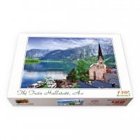Bộ tranh xếp hình 150 mảnh – Thị trấn Hallstatt, Áo