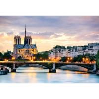 Bộ tranh xếp hình 315 mảnh – Nhà Thờ Đức Bà Paris (30x44cm)