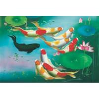 925-013 Cá chép hóa rồng